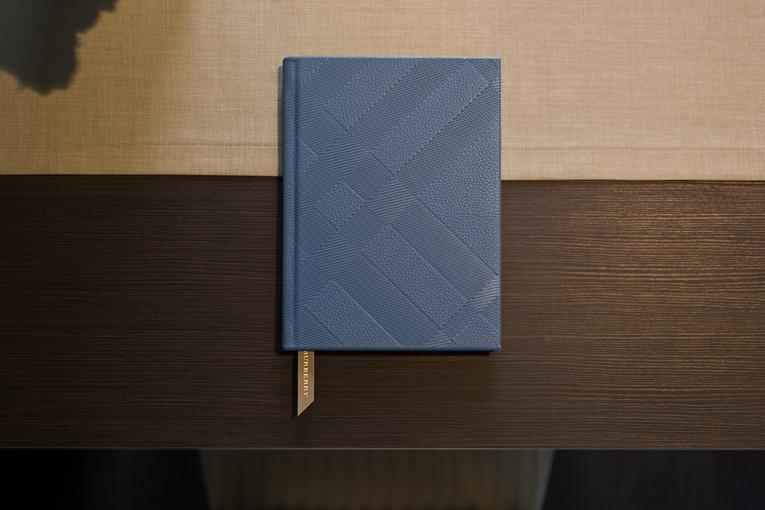 kožený deník