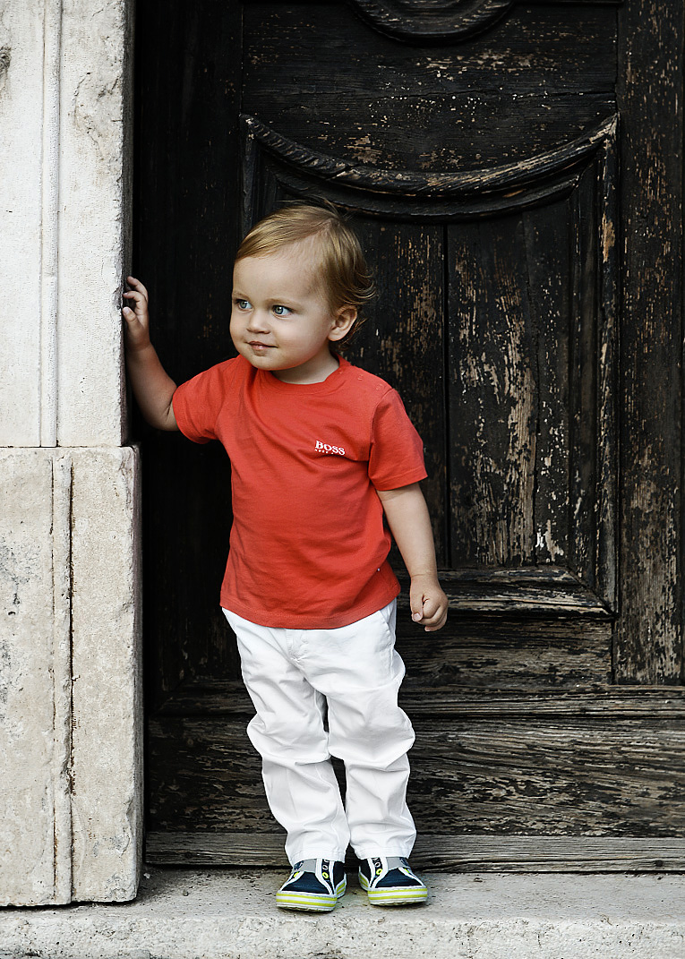 fashion story, Hugo Boss Kids, Armani Junior