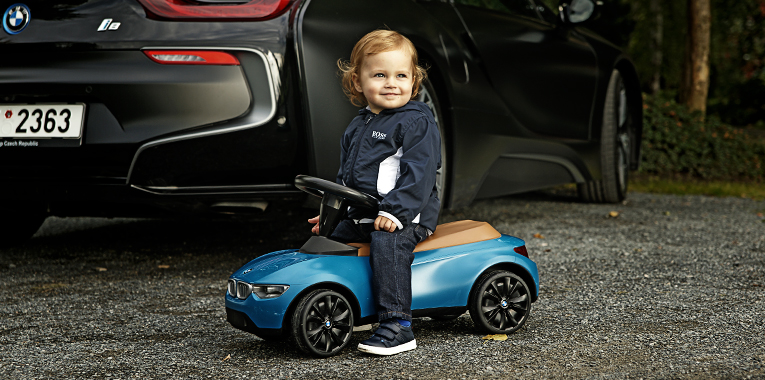 bmw i8, fashion story, bmw baby racer III.