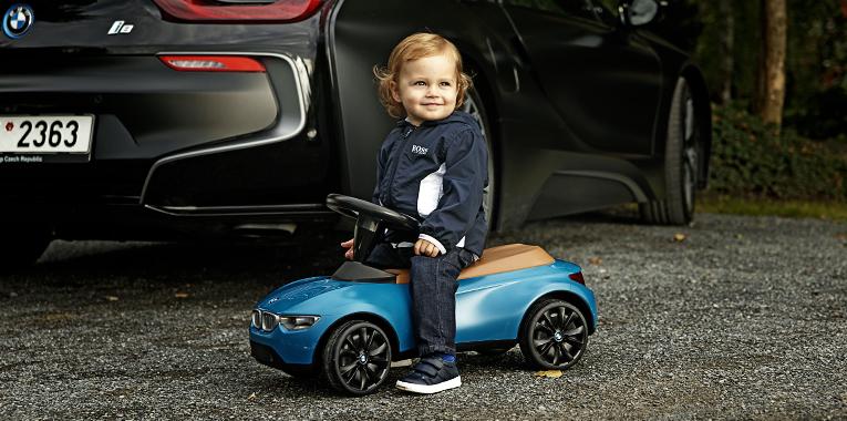 bmw i8, fashion story, bmw baby racer III.
