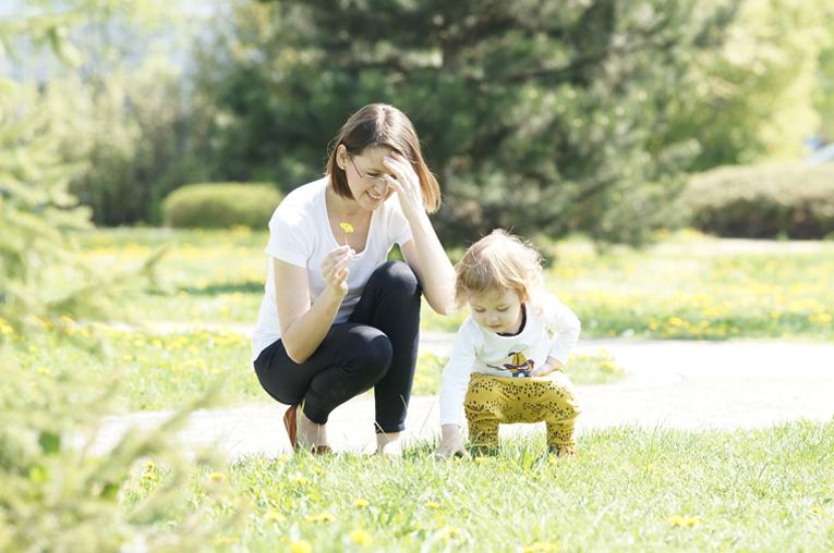 život na mateřské, máma a syn, mateřství