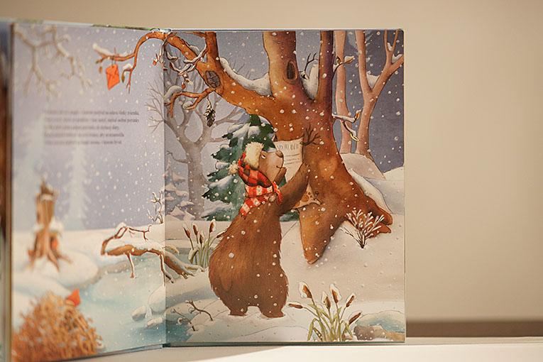 Tajný vianočný hosť, dětská vánoční kniha