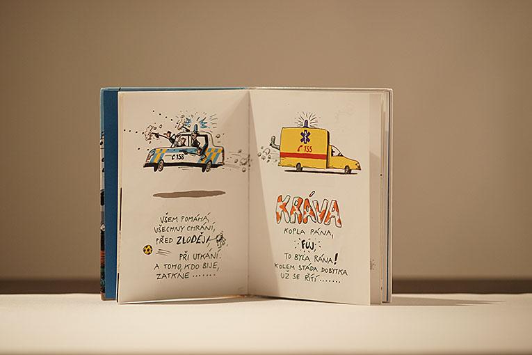 Říkačky o autech a strojích, dětské knihy