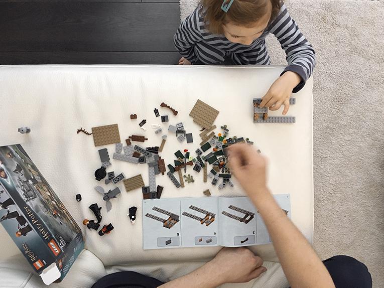 Lego Harry Potter, hračky pro čtyřleté děti, aktivity pro děti, jak zabavit dítě
