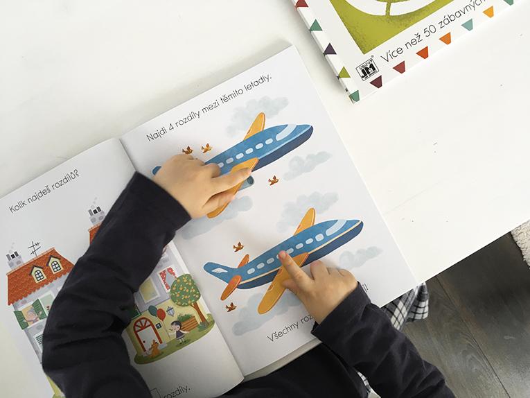kniha rozdílů, kniha aktivit pro děti, aktivity pro děti, moje první rozdíly